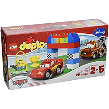 Amazon.com: LEGO DUPLO Disney Pixar Cars Classic Race 10600: Toys ...