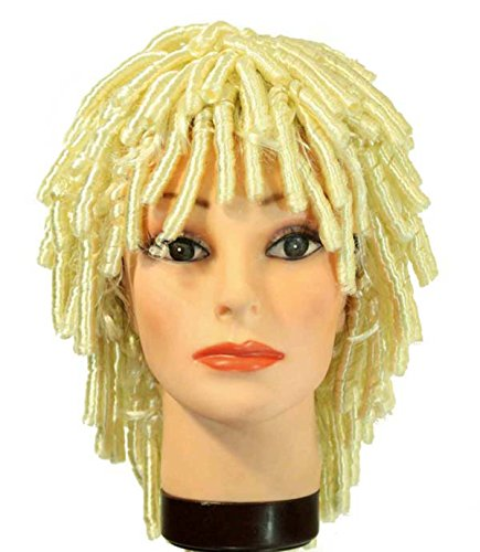 Wig Blonde Goldilocks (14in. Short Blonde Goldilocks Synthetic Hair Replacement)