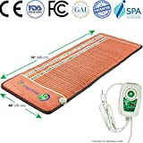 "Product review for HealthyLine Infrared Heating Mat 74"" x 28"" (Firm) 