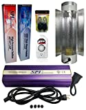 SPL Horticulture 600 Watt Grow Light Digital Dimmable HPS Mh System for Plants Air Cool Tube Set, 600-watt Kit
