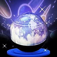 Proyector Nocturno Giratorio Lámpara Diamond Cosmos y proyector de ...