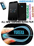0.2mm UNBREAKABLE TEMPERED GLASS Reusable SCREEN PROTECTOR Film GUARD FOR YU Yureka AO5510 - PS FORTUNET