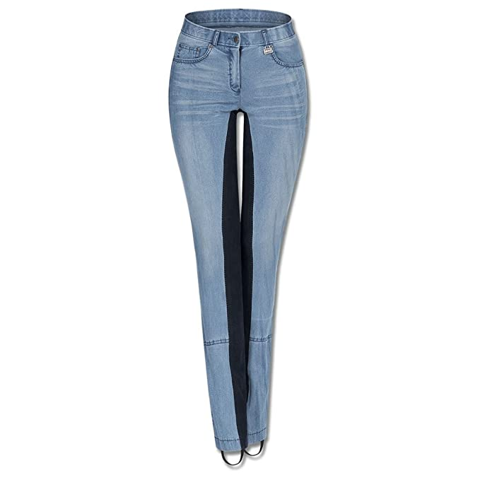 blau Waldhausen Jeans-Jodhpurreithose Harmony