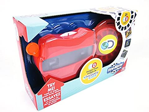 VIEW-MASTER DISCOVERY KIDS Dinosaurs Marine Safari Animals Viewer & 3D Reels Box For Ages 3+ - Discovery Viewer