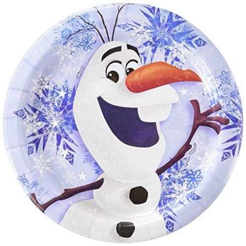 Disney Frozen Olaf Inch Plates