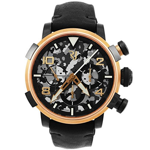 Romain-Jerome-Pinup-DNA-Red-Gold-WWII-Gina-Fan-Chronograph-Automatic-Mens-Watch-RJPCH00301