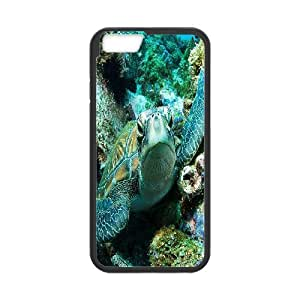 iPhone 6 Cases, Design Green Turtle Cases For iPhone 6 {Black}