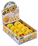 Emoji Universe: Emoji Faces Light Up Yo-Yos (8-Pack); YoYo Collection