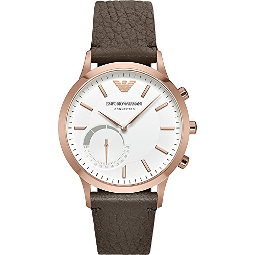 Emporio Armani Hybrid Smartwatch (Brown) by Emporio Armani
