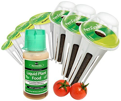 (Miracle-Gro AeroGarden Red Heirloom Cherry Tomato Seed Pod Kit (7-Pods) by AeroGrow)