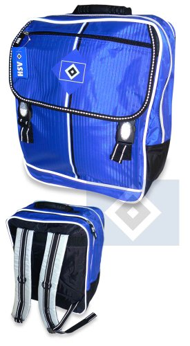 Brauns Hamburger SV Schul-Rucksack,  blau, 29136