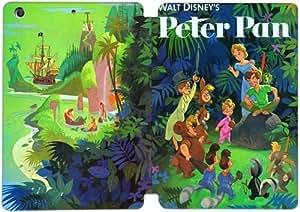 Pu soporte plegable del tirón del cuero cubierta de la caja Funda Folio para iPad Mini 1, 2 mini, mini 3 Peter Pan 35R4VR