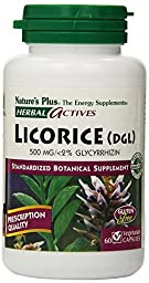 Nature\'s Plus - Licorice (Dgl), 500 mg, (1-Pack of 60)