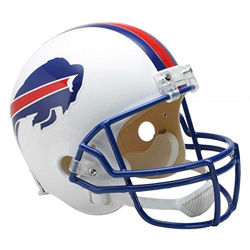 1982 Throwback Replica Mini Helmet - Riddell NFL Buffalo Bills 1976-1983 Throwback Replica Vsr4 Full Size Football Helmet