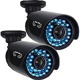Night Owl Optics - CAM-2PK-AHD7 - Night Owl CAM-AHD7 1 Megapixel Surveillance Camera - 2 Pack - Color - 100 ft3.60 mm - Cable - Bullet