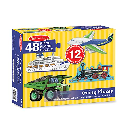 Ship Floor (Melissa & Doug Going Places Vehicles Floor Puzzles (4 puzzles, 12 pcs each))