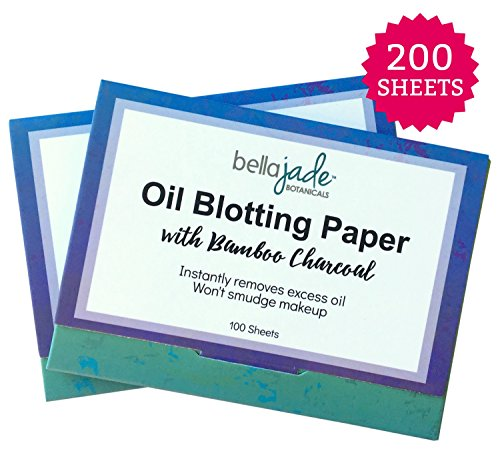 Blotting Sheets Infused Bamboo Charcoal product image
