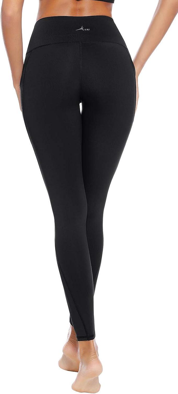 Amazon.com: AUU - Leggings de yoga para mujer, cintura alta ...