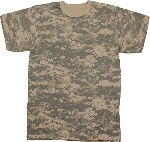 Army Universe ACU Digital Camouflage Short Sleeve T-Shirt Pin - Size 2X-Large (49