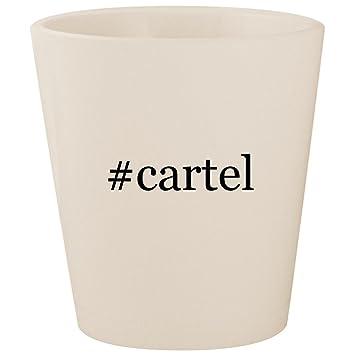 Amazon.com: #cartel - White Hashtag Ceramic 1.5oz Shot Glass ...