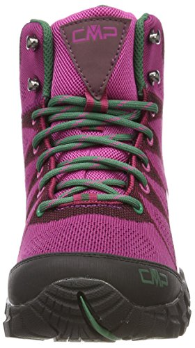 CMP Tauri, Stivali da Escursionismo Alti Donna Rosso (Borgogna)