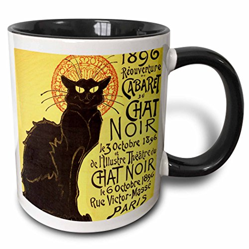 Vintage French Chat Noir
