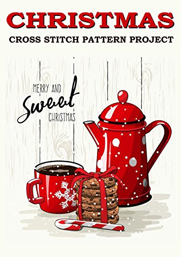 Christmas Cross Stitch Pattern Project: Fun and Easy Needlework Design (Counted Cross Stitch Pattern Book 1) ()
