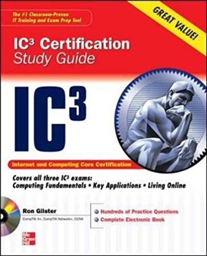 internet core and computing ic3 certification global standard 3 rh amazon com IC3 Certification Exam IC3 Logo