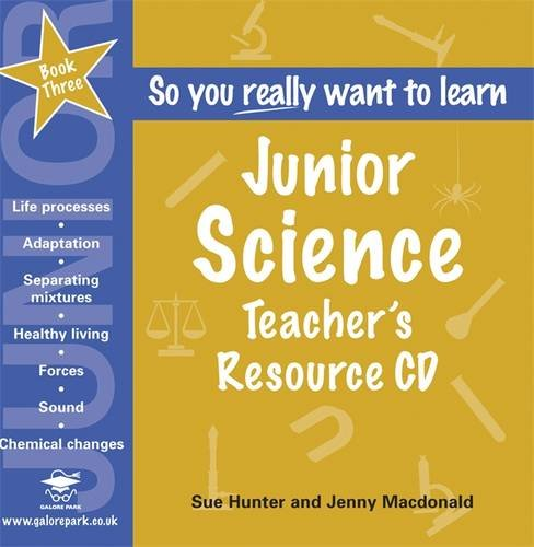 Junior Science: Teacher's Resource Bk. 3: Sue Hunter, Jenny ...