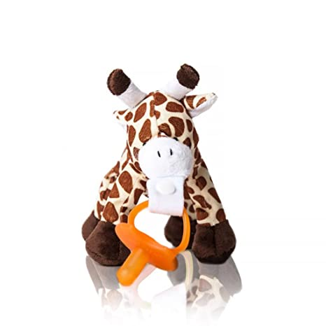 Chupete con desmontable peluche marrón Plush Giraffe: Amazon ...