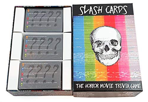 Slash Cards: The Horror Movie Trivia Game by Slash Cards