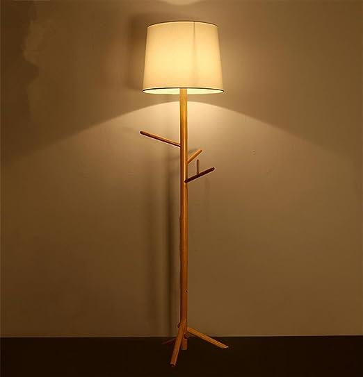 Atmko Lámparas de pie Árbol lámpara de pie lámpara de Ropa de ...