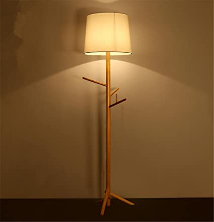 Lámparas de pie Árbol lámpara de pie lámpara de Ropa de ...
