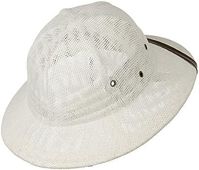 64e490c1d46ca Buy Sun Pith Safari Jungle Hat Helmet Sweatband White Online at Low ...