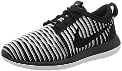 Nike Womens Roshe Two Flyknit Running Shoes-black-5.5