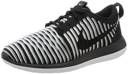 blanc Femme black noir Noir Nike cool Gris W Two Running De Entrainement Roshe Flyknit Chaussures Noir v6UBv84