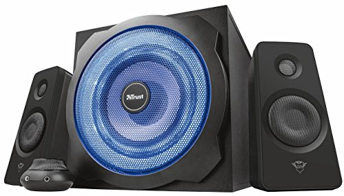 Trust 21071 GXT 628 2.1 PC Gaming Speaker System with Subwoofer for...