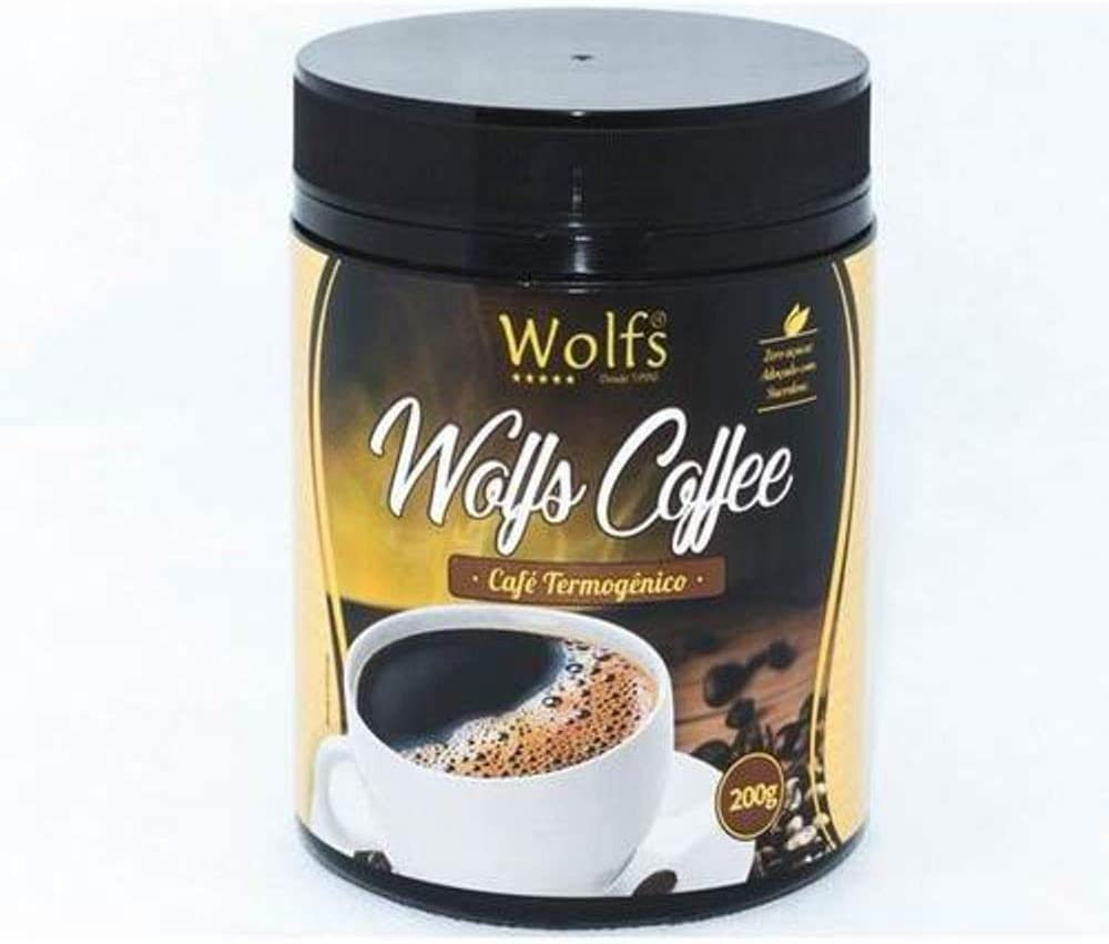 Café termogênico (200g) - Wolfs Coffee