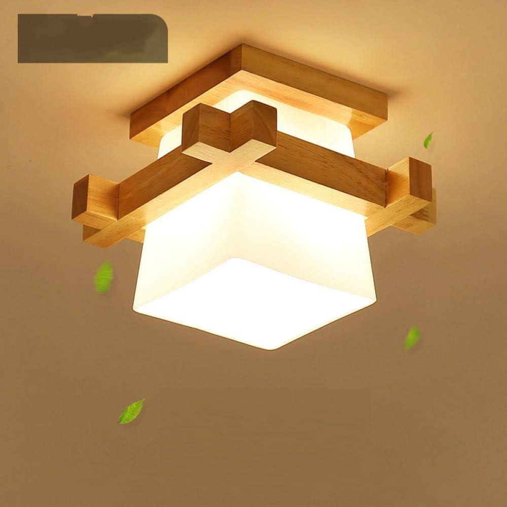 WSYYWD Iluminación para el hogar Luz de techo, pantalla de vidrio ...