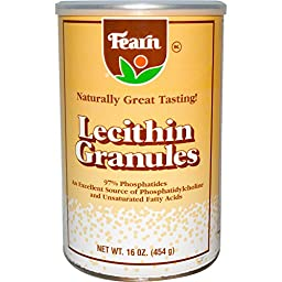 Fearn Natural Food, Lecithin Granules, 16 oz (454 g) - 2pc