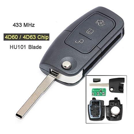 for Ford Mondeo focus fiesta uncut key blade free ship UK