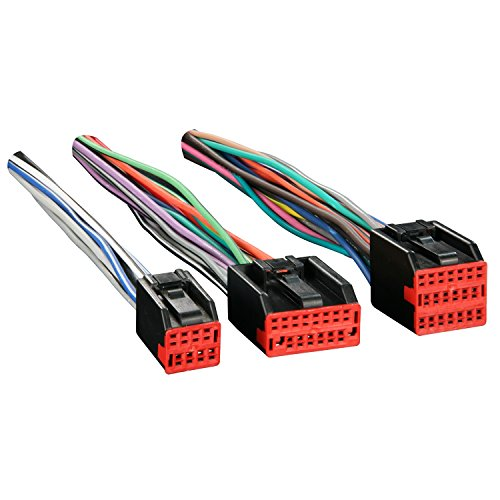Metra Reverse Wiring Harness 71-5700 for Select 1998-up Ford Vehicles with Premium -