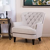 Christopher Knight Home 235060 Tafton Club Chair, Natural