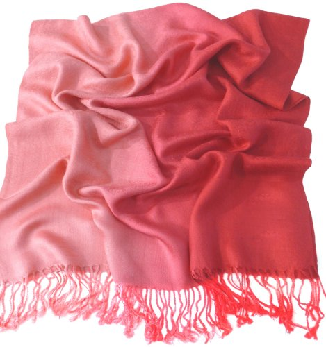 cj-apparel-red-two-tone-design-shawl-pashmina-scarf-wrap-stole-seconds-new