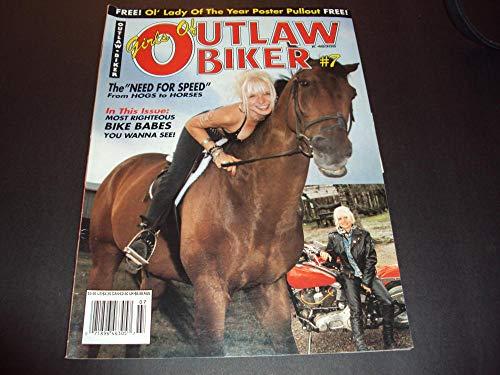 - Girls Of Outlaw Biker #7 Hogs to Horses, Bike Babes
