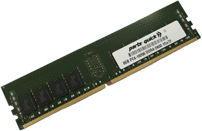8GB Memory for Dell PowerEdge R730 DDR4 PC4-2400 RDIMM (PARTS-QUICK Brand)