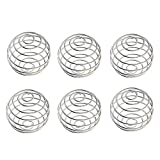 Protein Shaker Ball, 6 Pieces Stainless Steel Ball for Shaker Cup Bottle by Wadoy