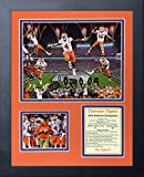 """Commemorate your Clemson Tigers 2016 NCAA football CFP National Championship victory with this beautifully matted collector's photo presentation. This 11"""" x 14"""" collage contains an 8"""" x 10"""" photo offset with an additional 3"""" x 5"""" photo, coupl..."""
