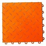 Speedway Garage Tile 789453O-50 Diamond Garage Floor 6 LOCK Diamond Tile 50 Pack, Orange