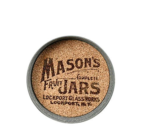 Mason Jar Lid Coaster with Mason